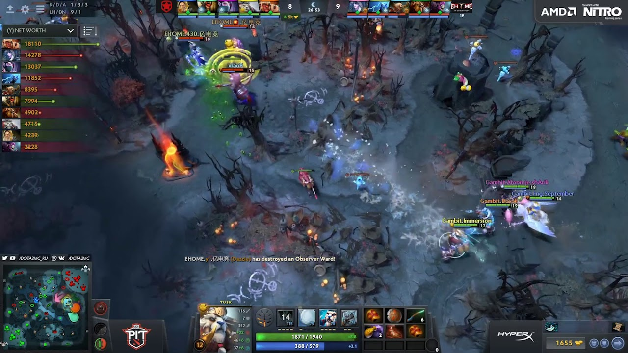 Dota 2 Clip Compilation 2 – With VPGame Roll on the description.