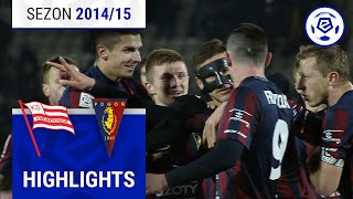 Cracovia - Pogoń Szczecin 0:1 [skrót] sezon 2014/15 kolejka 28