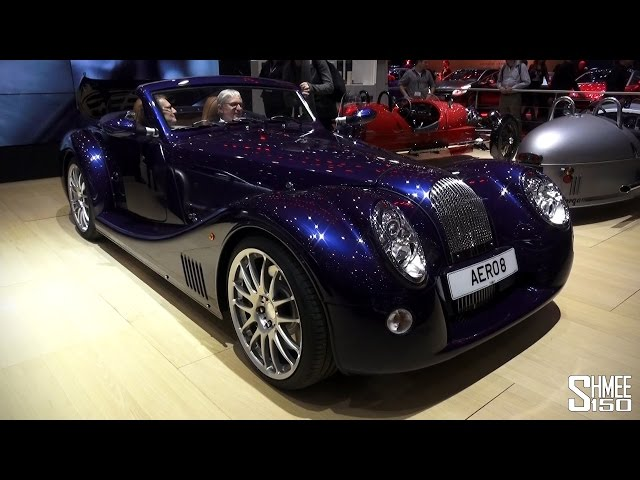 FIRST LOOK: 2015 Morgan Aero 8 - Geneva 2015