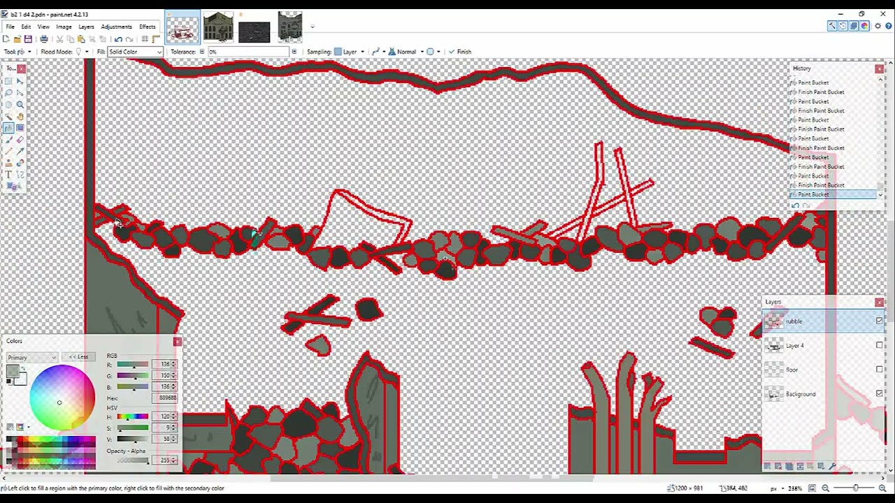 Pivot Alien Invasion Series 2 Part 22 making of/behind the scenes: animating