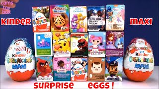 Chocolate Surprise Eggs Lalaloopsy Kinder Maxi Peppa Pig SHopkins Sofia Paw Patrol Toys Opening