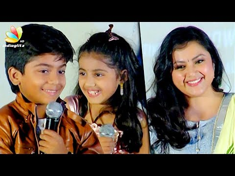 Meena Daughter Nainika & Raghavan Cute...