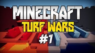 Minecraft: Turf Wars [#1] - Magiczna runda *.* ft. Twist26