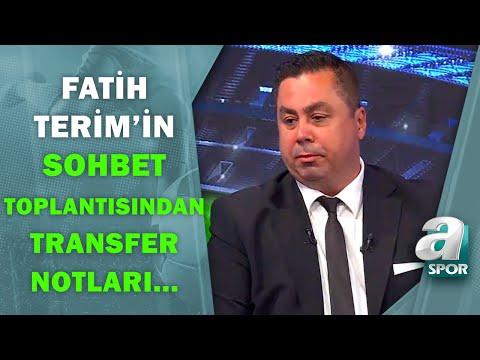 Serhan Türk, Fatih Terim'in Sohbet Toplantısını Değerlendirdi! / Halil Dervişoğl