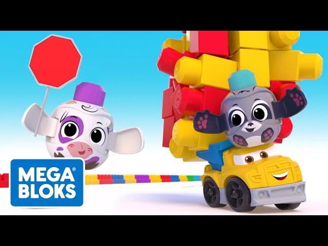 Mega Bloks™ - Bekçi Bir İnek | çocuk çizgi filmleri | Fisher-Price | öğrenme videoları