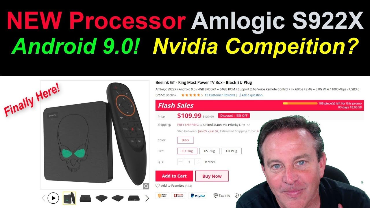 🔴The New Processor and Android 9 are Here! S922X makes a debut with the  BeeLink GT King
