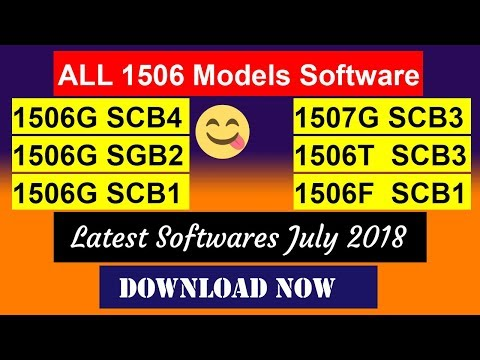 All 1506T, 1506F, 1506G Models Latest July 2018 Auto PowerVU Softwares |  Sony Network OK