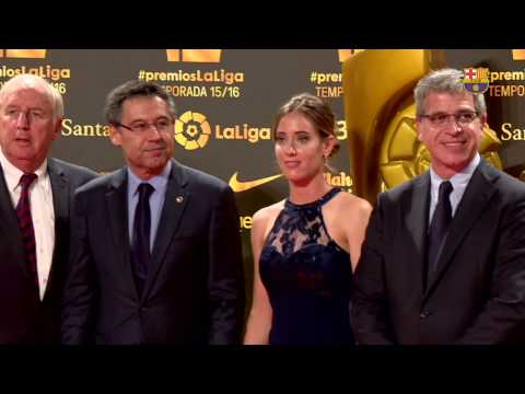 FC Barcelona receive awards at La Liga gala