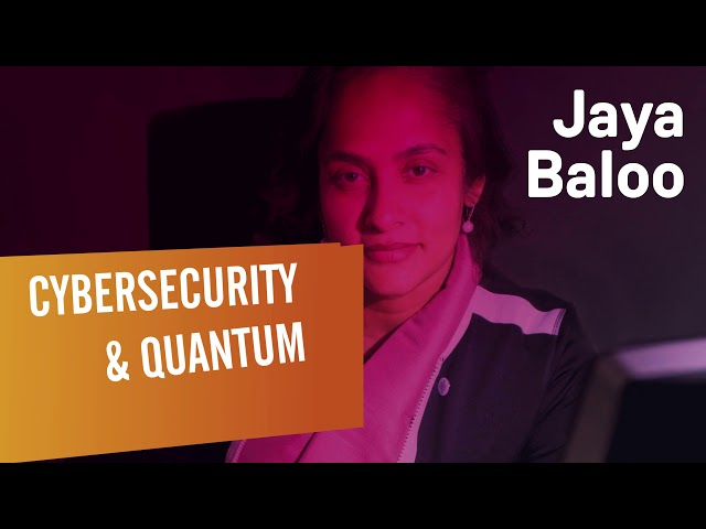 Executive Program Speaker - Jaya Baloo - Cybersecurity & Quantum Computing