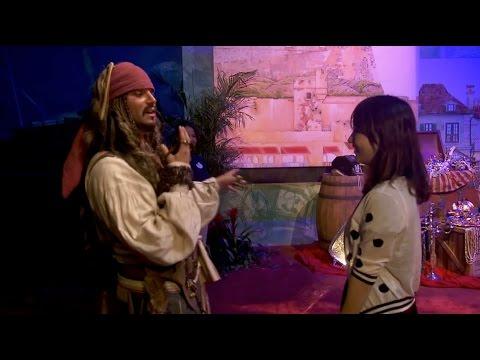 Treasure Cove / Pirates of the Caribbean land preview at Shanghai Disneyland