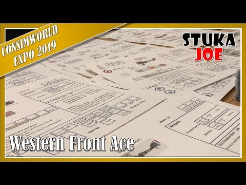 Designer Interview: Western Front Ace at Consimworld Expo 2019