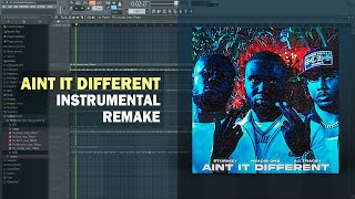 Headie One - Aint It Different ft. AJ Tracey & Stormzy (Instrumental) + Free FLP Download