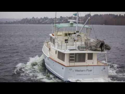 "1999 Selene Ocean Trawler 43 ""Western Flyer"" - SOLD"