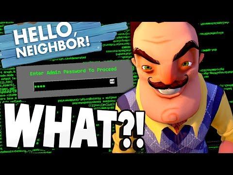HELLO NEIGHBOR'S BIGGEST SECRET! Access Code Solved! - Hello Neighbor Alpha 4 Gameplay