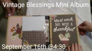 Vintage Blessings Mini Album