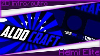 ALDO CRAFT  2D Intro&Outro  Paid  Made On Android 100%