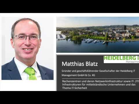 Crypto Valley Festival 2021 – Im Interview Matthias Blatz mit Tino Ahlers