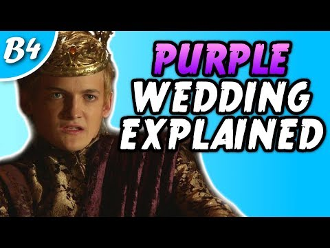 PROOF Of Who Was Behind The Purple Wedding In Game Of Thrones