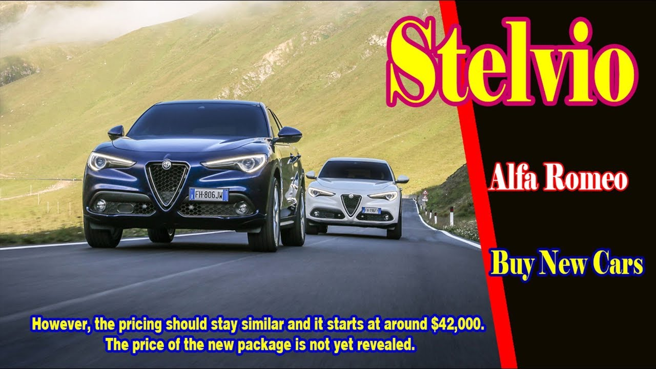 2019 Alfa Romeo Stelvio Nero 2019 Alfa Romeo Stelvio Ti 2019