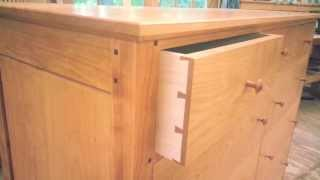Solid Cherry Dresser - Bissellwoodworking.com