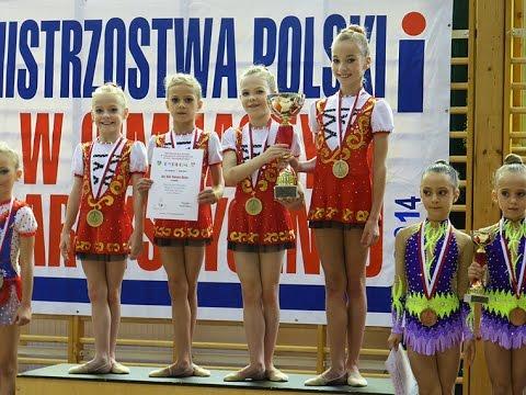 SGA Bielsko-Biała - Mistrzynie Polski w układach zbiorowych - Dziwnów 2014