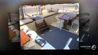 Custom power catamaran mb9204 power boat, motor yacht year - 2004