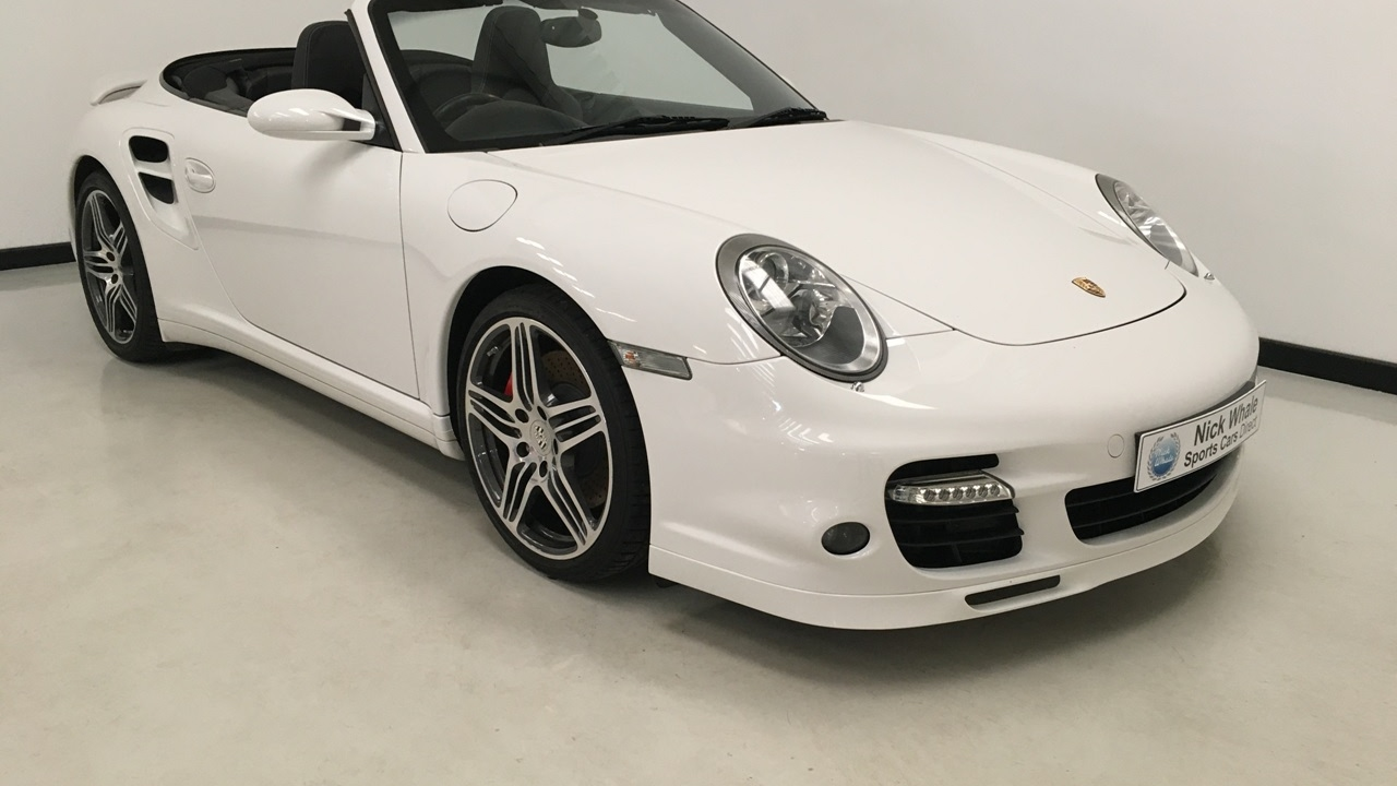 For Sale 2007 Porsche 911 997 Turbo Cabriolet Manual Gearbox Low Mileage Nick Whale Sports Cars Youtube