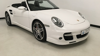 For sale - 2007 Porsche 911 (997) Turbo Cabriolet Manual Gearbox-Low Mileage- Nick Whale Sports Cars