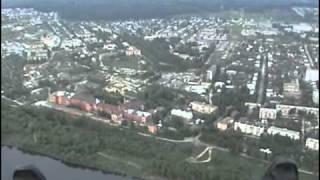 город Ковров с высоты