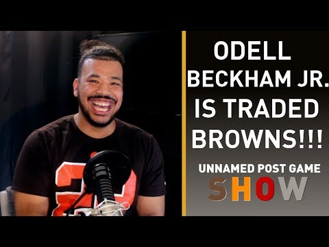 ODELL BECKHAM JR TRADED TO THE BROWNS.. OH MY GOD
