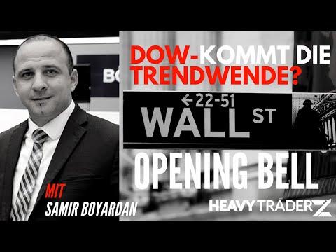 Wall Street:  Kommt der Turnaround? #finanzminister #donaldtrump #livetrading #dowjones