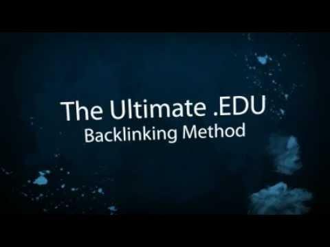 How to get EDU Backlinks ! New best EDU Backlink Method !