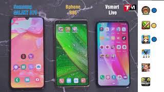 Speedtest Bphone B86 vs Vsmart Live vs Galaxy A70: Đều là Snapdragon 675 nhưng giá vô cùng khác biệt