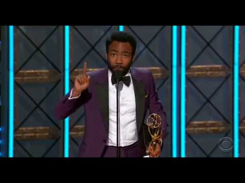 Donald Glover Wins Lead Actor 2017 Emmy and Becomes First Black Person to Win Emmy For Directing!