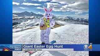 Loveland Ski Area Celebrates Easter With Giant Easter Egg Hunt