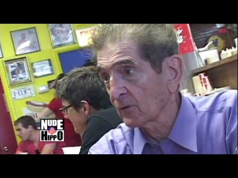 Dick Biondi Visits Hot Doug
