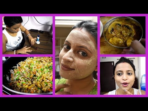 Sudden plan for outing | Cooking my favorite dinner | Skin care | Evening to dinner routine