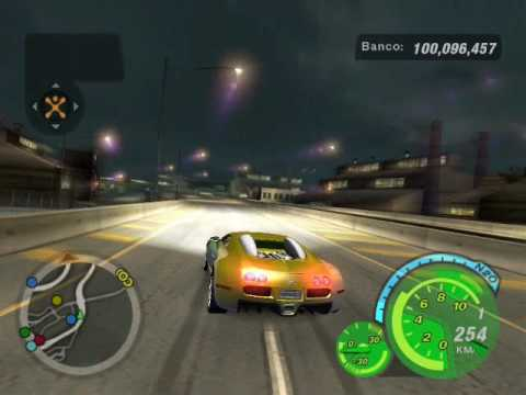 bugatti veyron need for speed underground 2 478 km h youtube. Black Bedroom Furniture Sets. Home Design Ideas