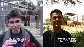 Me at the Zoo Challenge (Split Screen)