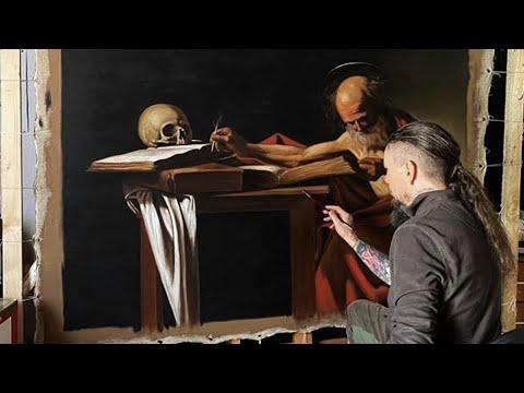Caravaggio Technique Tutorial - Hieronymus