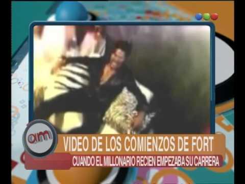 Video de los comienzos de Ricardo Fort - AM