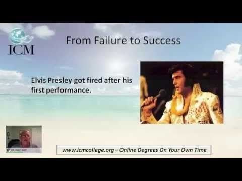 From Failure To Success - ICM's Counseling & Learning Hour