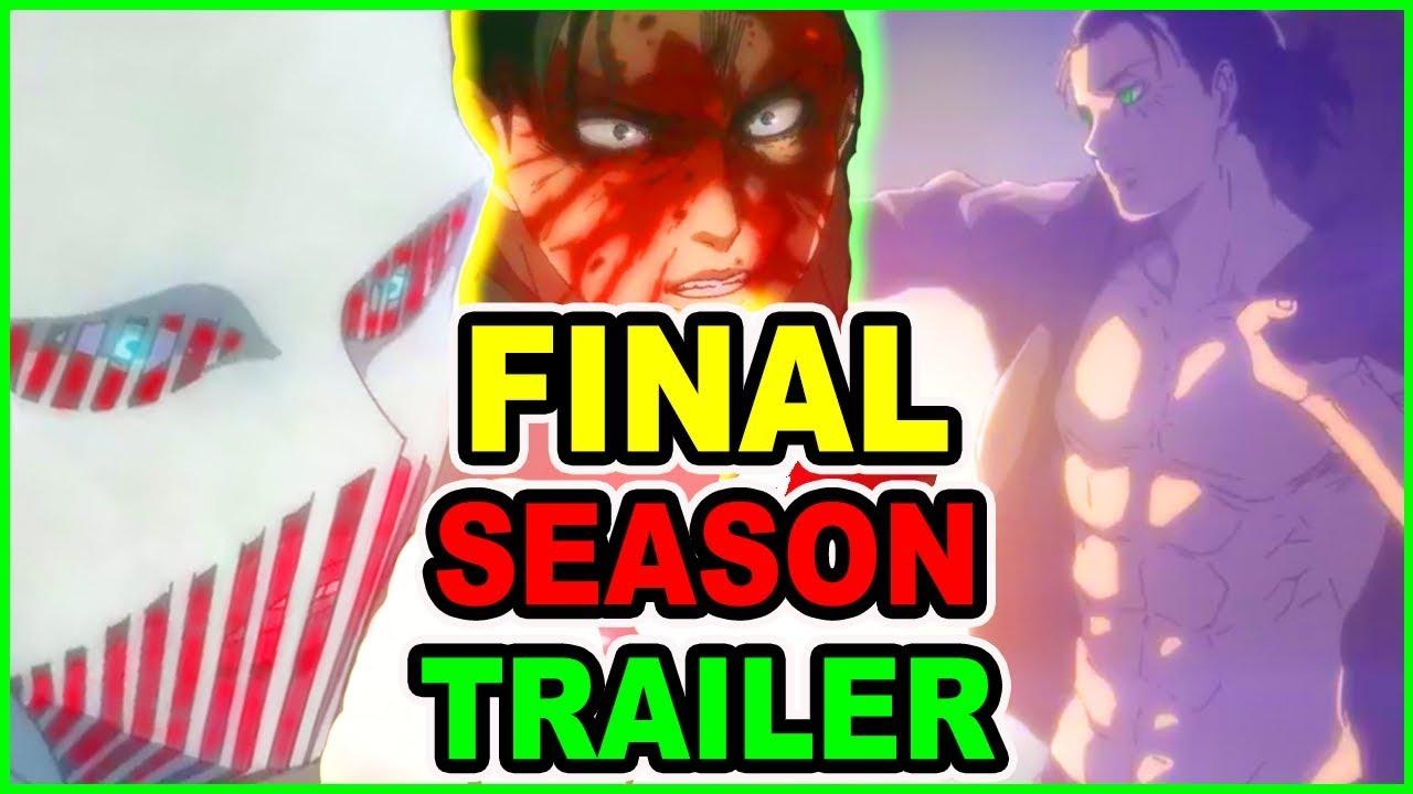 Eren Vs WarHammer Titan Revealed! Attack on Titan Season 4 Trailer! New Studio CONFIRMED