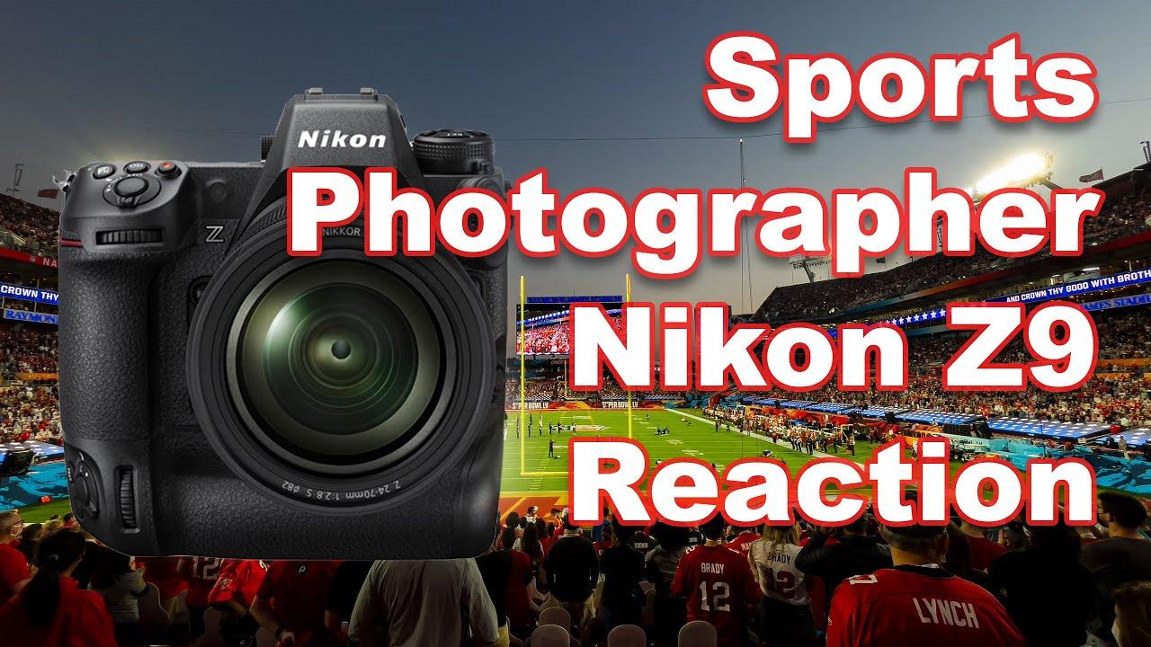 Download Sports Photographer Nikon Z9 Reaction