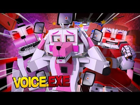 Minecraft Fnaf: Sister Location - Voice.Exe (Minecraft Roleplay)