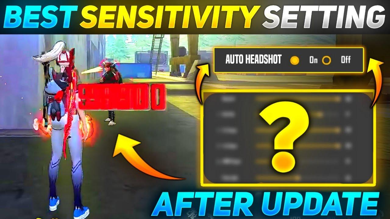 Free Fire Best Sensitivity Settings 🔥 After Update 👽| Latest |Auto Headshot Sensitivity Setting 2021