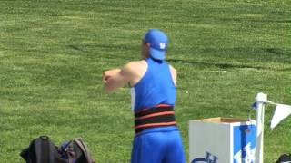 Kentucky Wildcats TV: Ray Dykstra 76.25m/250-2, school record!