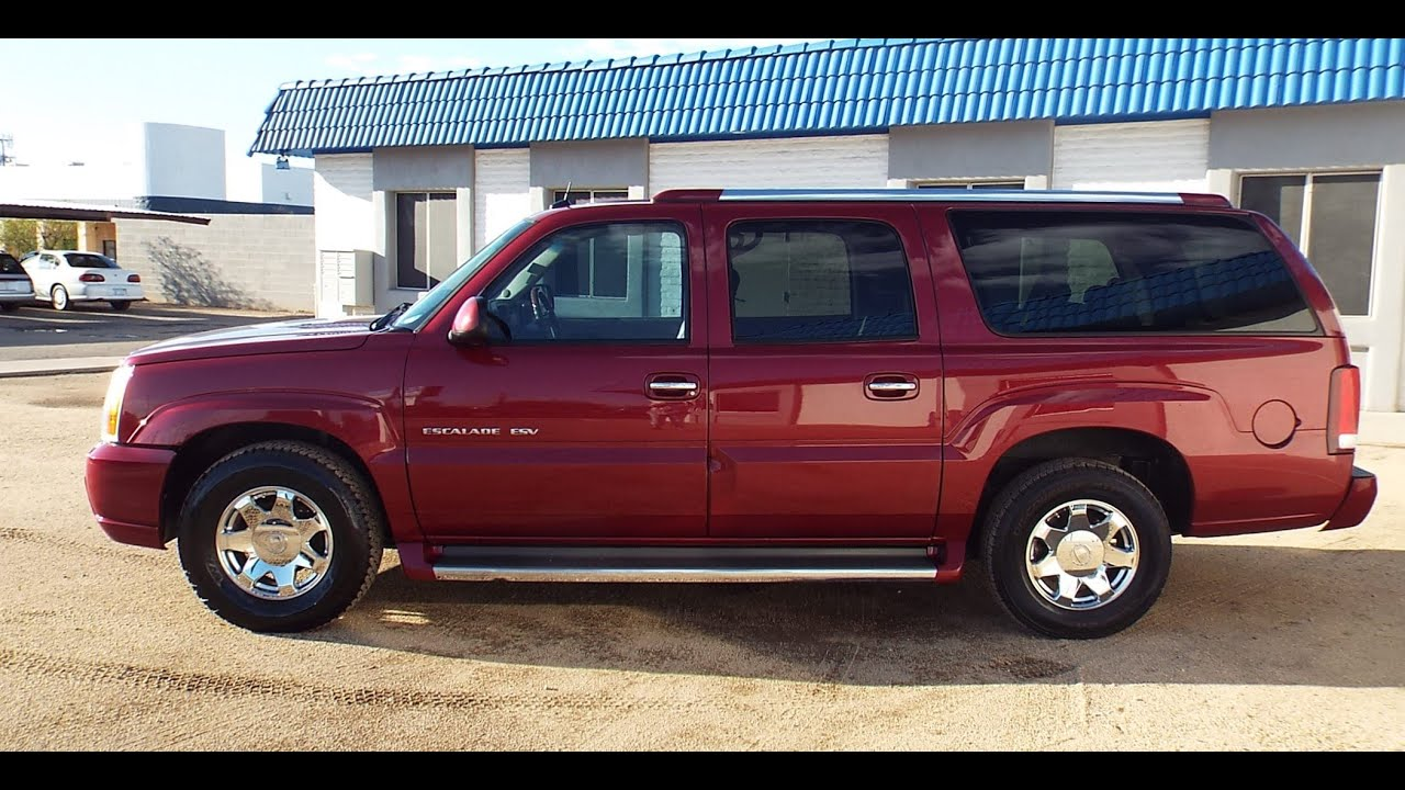 family title escalade condition low sale excellent esv great km vehicles for mint advert cadillac truck car