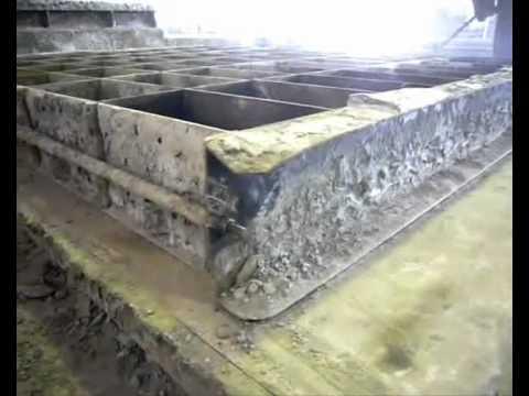 Интенсивная технология производства ячеистого бетона