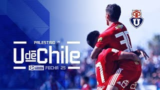 Palestino vs Universidad de Chile - Fecha 25
